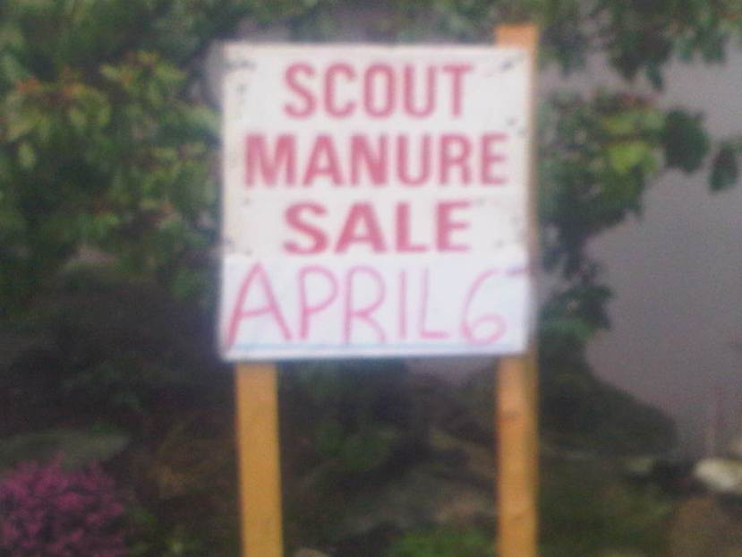scout manure